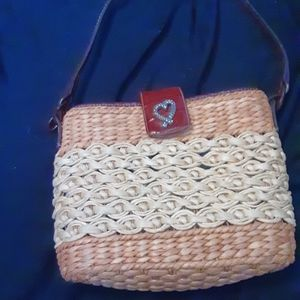 COPY - Brighton straw purse